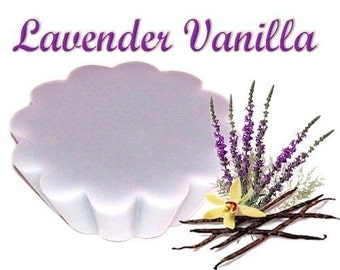 4 Lavender Vanilla Tarts Wickless Candle Melts Aromatherapy Scent