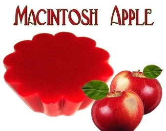 4 Macintosh Apple Tarts Wickless Candle Melts Fresh Apple Scent