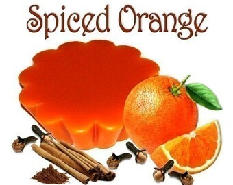 4 Spiced Orange Tarts Potpourri Wickless Candle Melts Spice and Fruit Scent