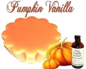 4 Pumpkin Vanilla Tarts Candle Melts Fall Scent
