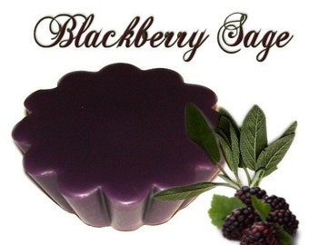 4 Blackberry Sage Tarts Wickless Candle Melts Herbal Berry Scent