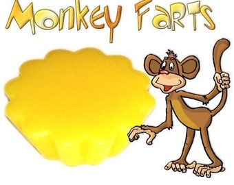 4 Monkey Farts Tarts Candle Melts Fun Banana Citrus Scent