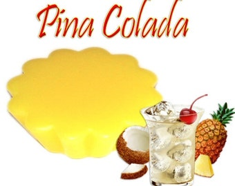4 Pina Colada Candle Tarts Wickless Melts Pineapple Coconut Scent