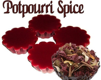4 Potpourri Spice Wax Tart Wickless Candle Melts Spicy Scent