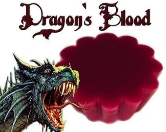4 Dragon Blood Tarts Wickless Candle Melts Plum and Berry Scent