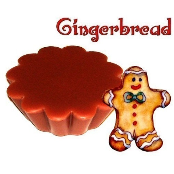 4 Gingerbread Tarts Wickless Candle Melts Spice Bakery Scent