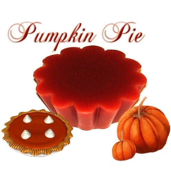4 Pumpkin Pie Tarts Wickless Candle Melts Thanksgiving Scent
