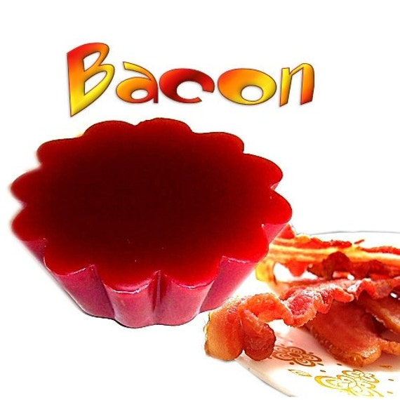 4 Bacon Tarts Wickless Candle Melts Smoky Scent