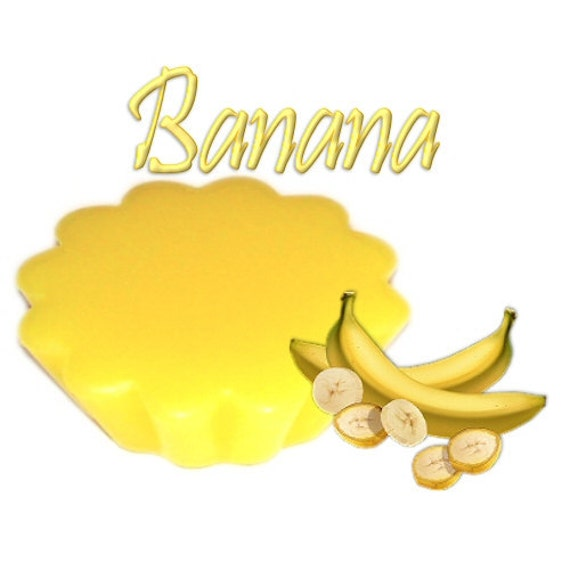 4 Banana Tarts Wickless Candle Melts Fresh Fruit Scent