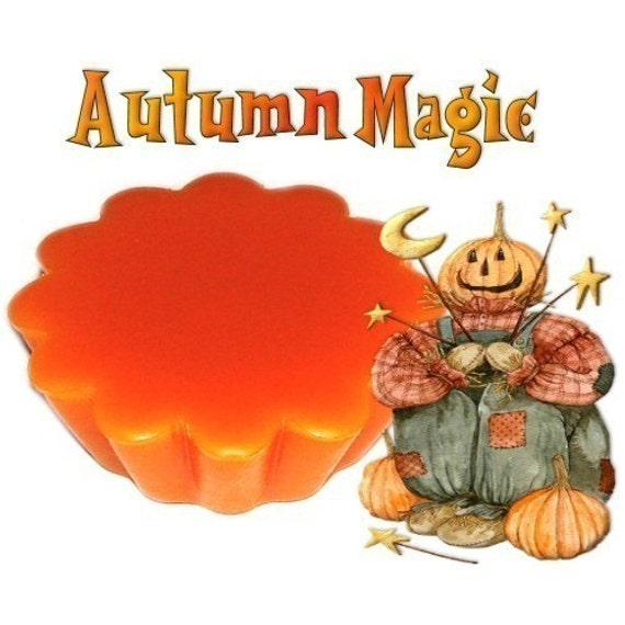 4 Autumn Magic Wax Tarts Candle Melts Spicy Woodsy Scent