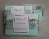 Fresh Linen Glycerin Soap