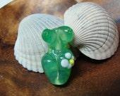 Forest Goddess bead, ChristyLDesigns focal, handmade lampwork
