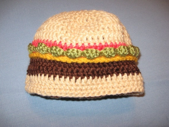 Cheeseburger Novelty Hat For Child