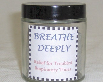 Natural Decongestant Breathe Deeply