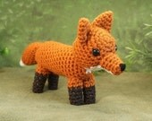 Red Fox amigurumi PDF CROCHET PATTERN