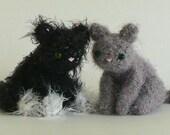 PDF Fuzzy Kitten amigurumi cat CROCHET PATTERN