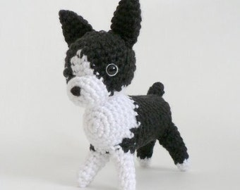 PDF AmiDogs Boston Terrier amigurumi dog CROCHET PATTERN