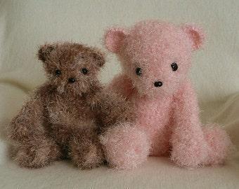 PDF Fuzzy Bear amigurumi CROCHET PATTERN
