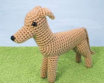 AmiDogs Greyhound (or Whippet) amigurumi PDF CROCHET PATTERN