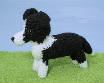 PDF AmiDogs Border Collie amigurumi CROCHET PATTERN