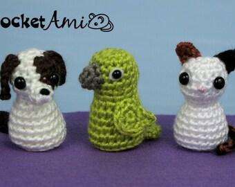 Wire Soul Amigurumi : 022 Puppy dog with wire frame Amigurumi Crochet Pattern