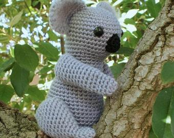 PDF Koala amigurumi CROCHET PATTERN