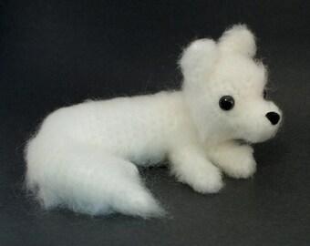 PDF Arctic Fox amigurumi CROCHET PATTERN
