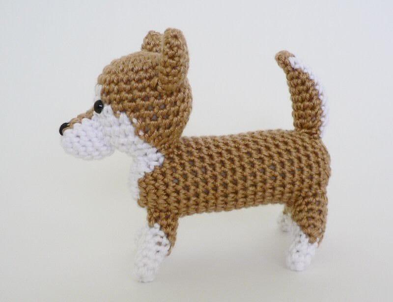 Amigurumi Dog Crochet Patterns : Pdf amidogs shiba inu amigurumi dog crochet pattern from planetjune