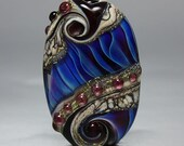 Master Mind - Lampwork Focal Bead by Whitney Scott-Lassini
