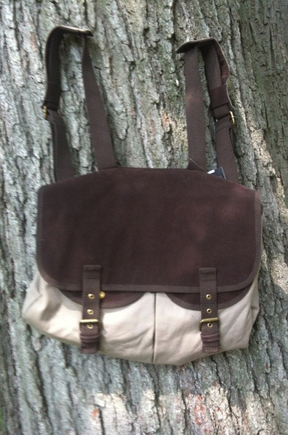Canvas Backpack NWT