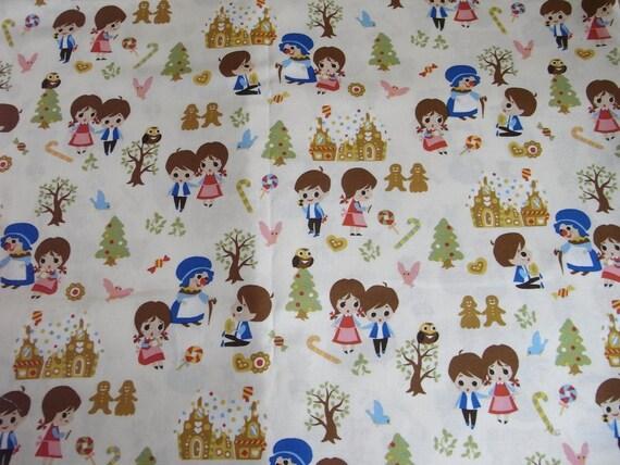 Japanese Fabric   Hansel and Gretel half yard