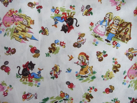 Japanese Fabric Fairy Tales  half yard