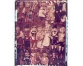 Marionettes - Prague, Polaroid Transfer