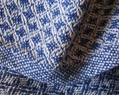 Cotton Baby Blanket - Royal Blue