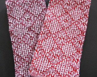 2 - Red Hot Hand Towels