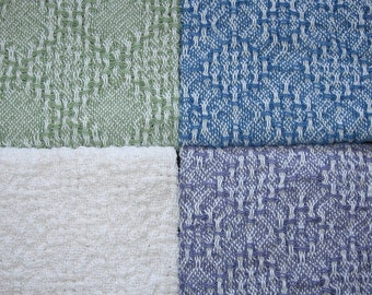 4 Handwoven Dish Towels