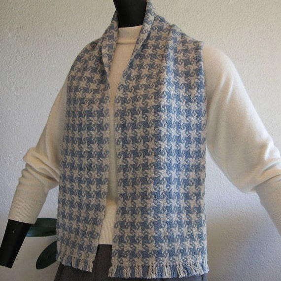 Wool Scarf - Handwoven