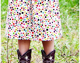 toddler girls skirts  Ready to ship Dipsy Dots skirt 2 Toddler - 9 Youth Boutique Childrens Clothing