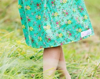 Childrens girls skirt  Chelsea skirt sizes 2t-9 Youth Easter Spring