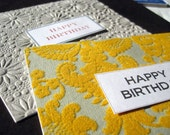 Happy Birthday Card Set of Two