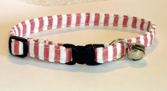 Paws 'n Tails Cat Collar ... Candy stripes