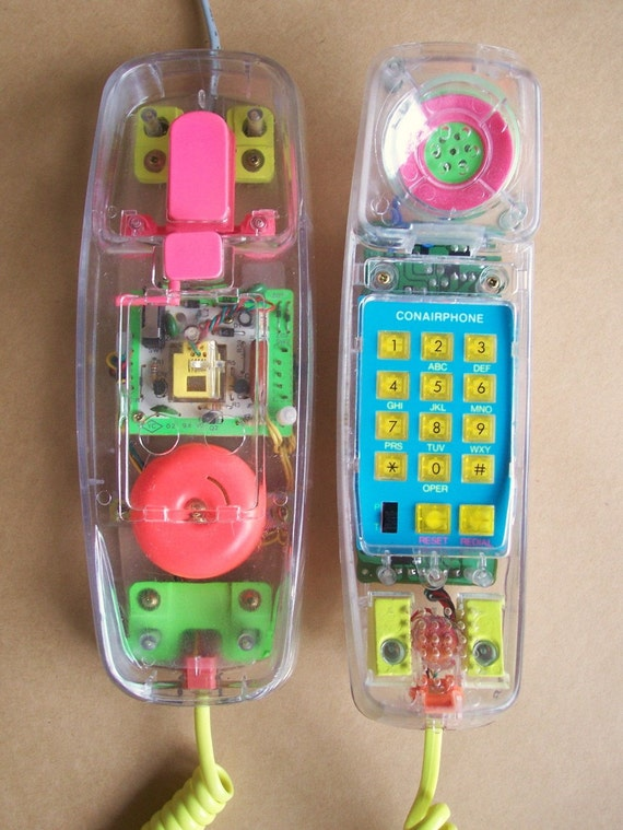 Awesomely 80s Phone Neon Colors