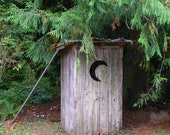 The Outhouse - Photography Note Card