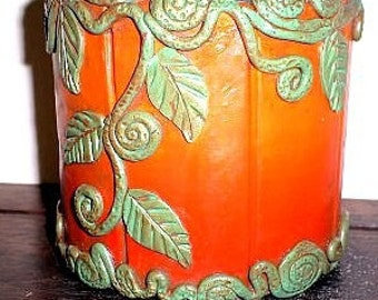 Fall Tapestry Pen Cup OFP3002-13