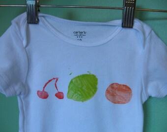 fruit onesie - 12 months