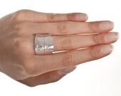Bay Laurel leaf ring