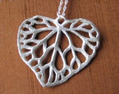 Ivy Leaf Heart Pendant
