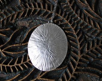 Barnacle Pendant  (large oval)