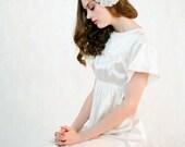 Orcas Island Silk Wedding Dress Gown Custom Made To Order - The Perfect Elegant Simple Wedding Dress