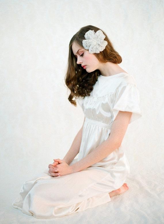 Orcas Island Silk Gown - The Perfect Elegant Simple Wedding Dress